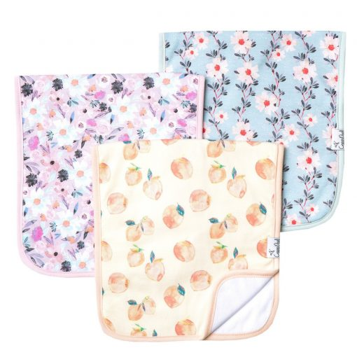Copper Pearl Morgan Burp Cloth Set 3-Pack