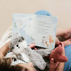 Slumberkins Family Bonding Otter Board Book and Stuffed Otter