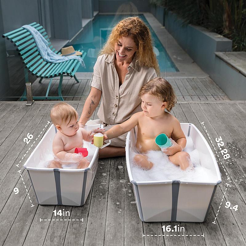 Stokke Flexi Bath vs Stokke Flexi Bath X-large Comparison