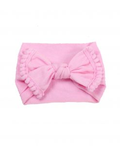 Emerson and Friends Pink Pom Baby Headband