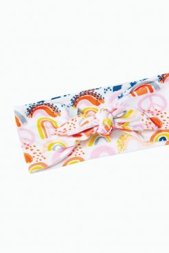 Unconstructed Rainbow Headband by Clover Baby and Kids