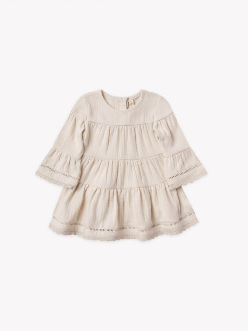 Quincy Mae Belle Dress in Peble