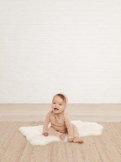 Petal Pink Baby Pants