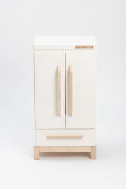 33 inch tall wooden refrigerator