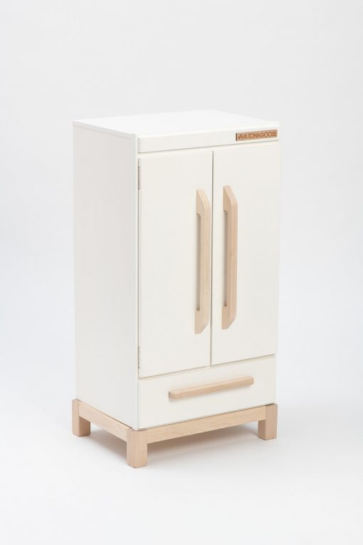 Wooden Refrigerator for Pretend