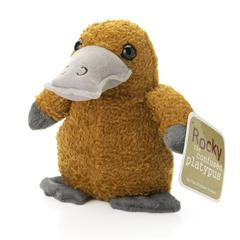 Christopher Straub Rocky the Confused Platypus Plush