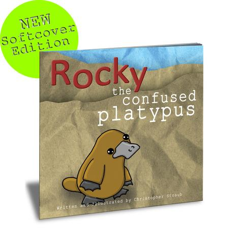 Christopher Straub Rocky the Confused Platypus Book