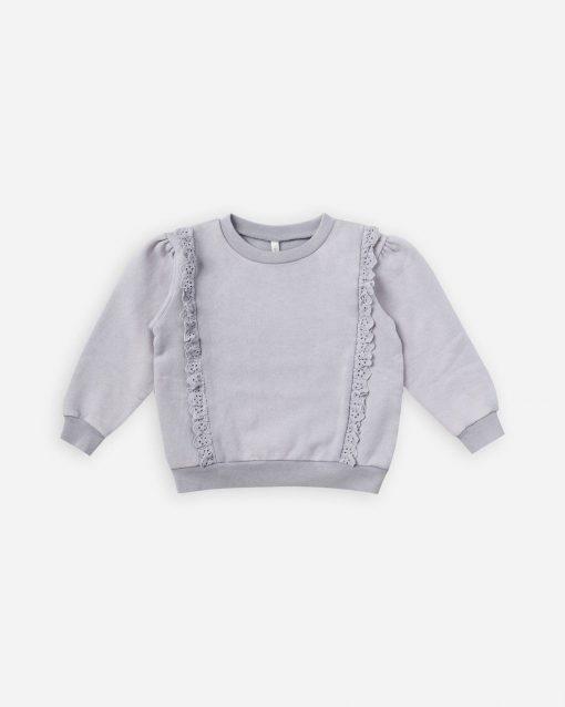 Rylee & Cru Periwinkle Pullover Swatshirt