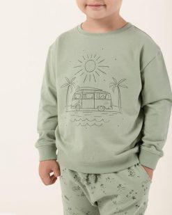 Seafoam Green Rylee + Cru Sweatshirt Coast