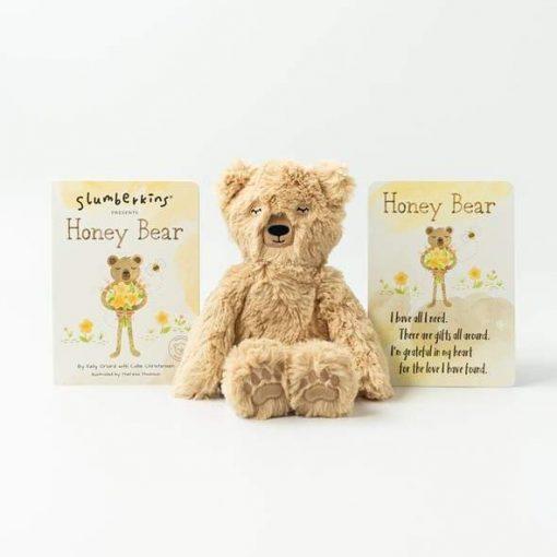 Honey Bear Kin and Board Book Bundle