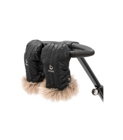 Onyx Black Stokke Stroller Mittens for Parents