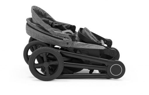 Blue Stokke Stroller