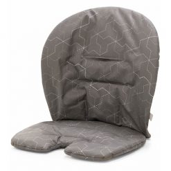 Geometric Grey Stokke Steps Baby Set Cushion