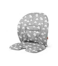 Grey Clouds Stokke Steps Baby Set Cushion