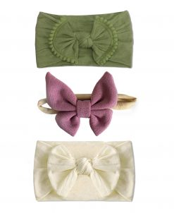 Emerson and Friends Summer Bow Baby Headband Set