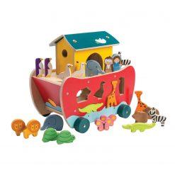 Noah's Shape Sorter Ark from Tender Leaf Toys