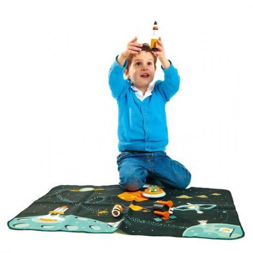 Space Adventure Toddler Playset Tender Leaf Toys