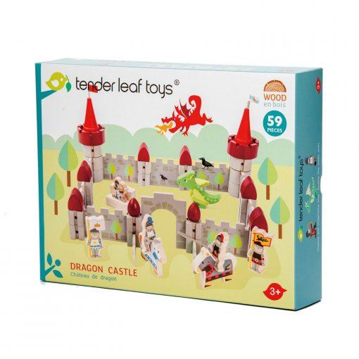 Packaging Dragon Castle Tender Leaf Toys