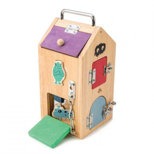 Lock box toy