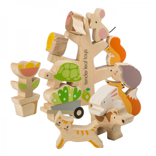Tender Leaf Toys Stacking Gardening Friends 2