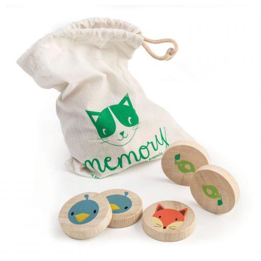 Drawstring Bag Matching Cat Game