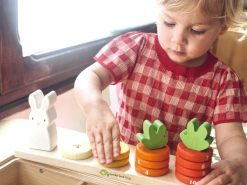 wooden counting toy for kids