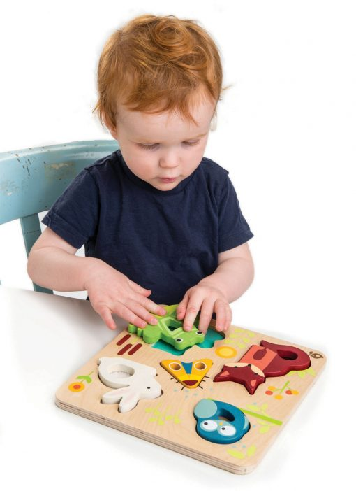 Touchy Feely animal puzzle for kids