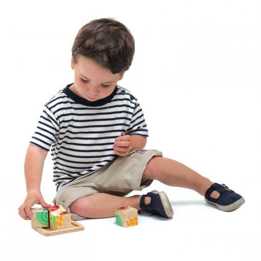 wood animal game for kids