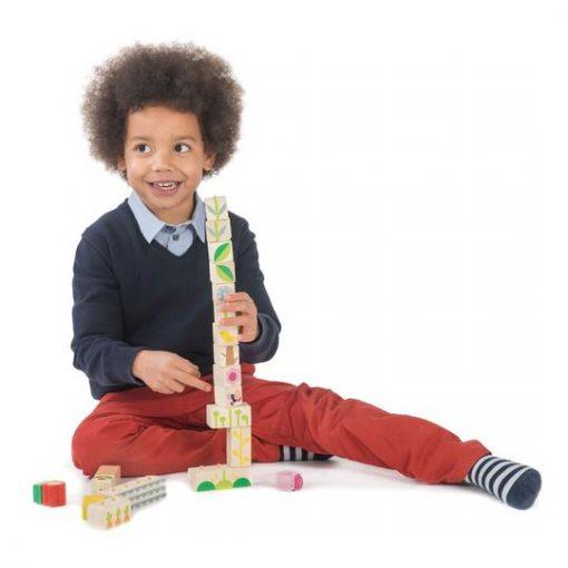 Garden Blocks Set Tender Leaf Toys