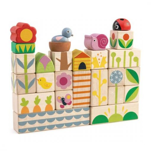 Garden Activity Blocks for Babies and Toddlers