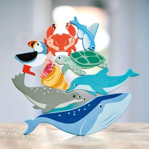 Stackable Creatures Wooden Toys