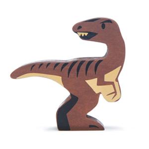 Velociraptor Wooden Figure