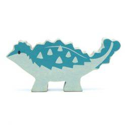 Ankylosaurus Wooden Figure