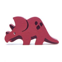 Triceratops Wooden Figure