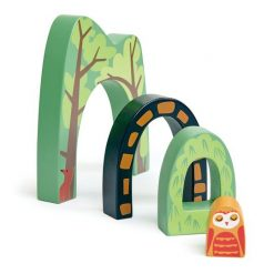 Forest Tunnels Train Accessory Set from Tender Leaf Toys 4