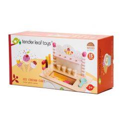 Box Set of Award Winning Ice Cream Cart Tender Leaf Toys