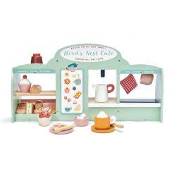 Bird's Nest Café Set Up for Playtime Tender Leaf Toys