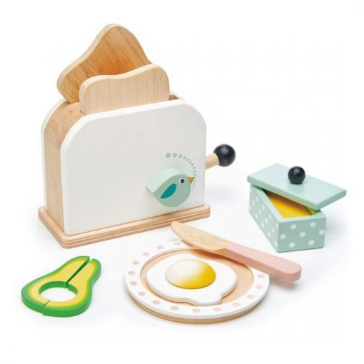Mini Chef Breakfast Toaster Set from Tender Leaf Toys