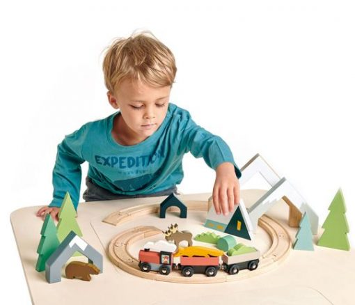 Fun Table Top Treetop Playtime Train Set