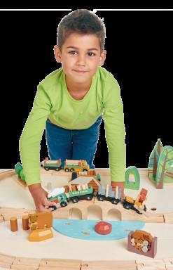 Expansive Play Set Tender Leaf Toys Trains