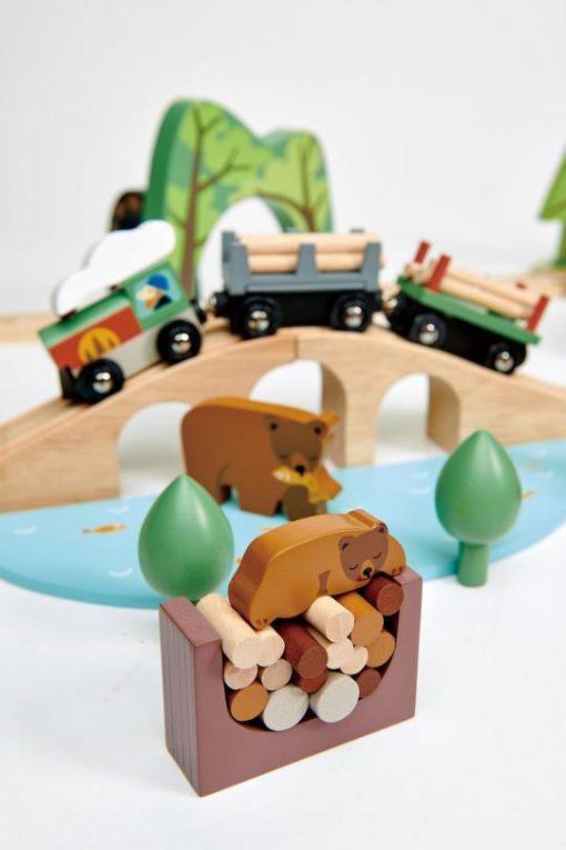 Bear lookout Tender Leaf Toys Wild Pines Set