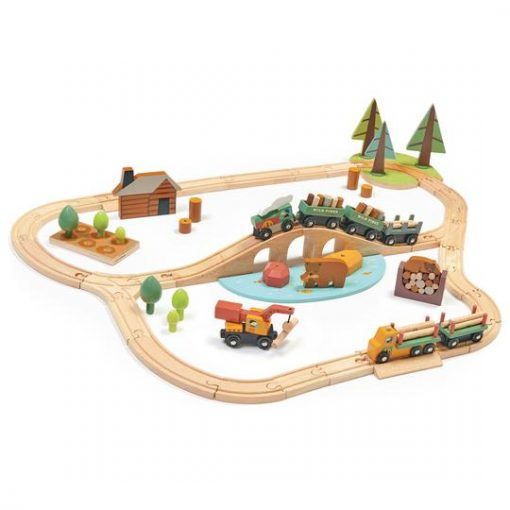 Wild Pines Train Set from Tender Leaf Toys 8