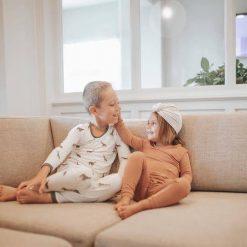Spice Colored Toddler Pajamas by Kyte