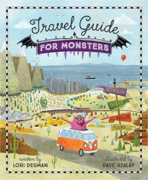 Travel Guide for Monsters Children's Picture Book