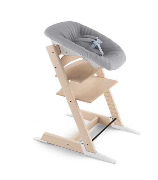 Stokke Tripp Trapp High Chair with Newborn Set - Natural / Grey