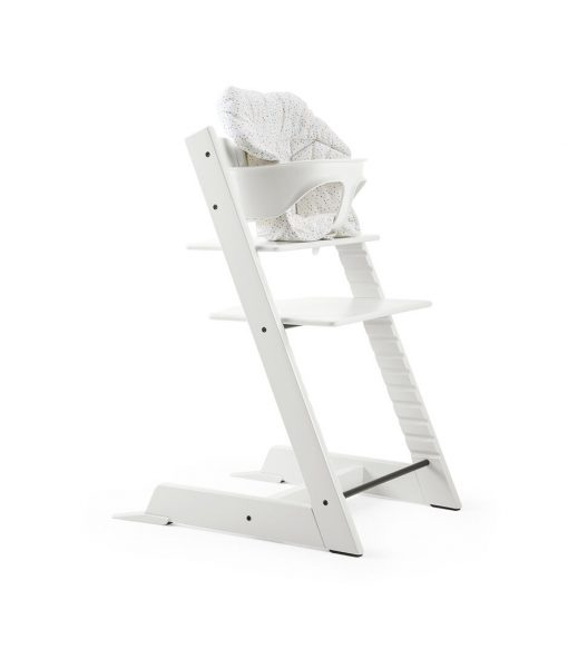 Stokke Tripp Trapp High Chair with Baby Cushion - Soft Sprinkle