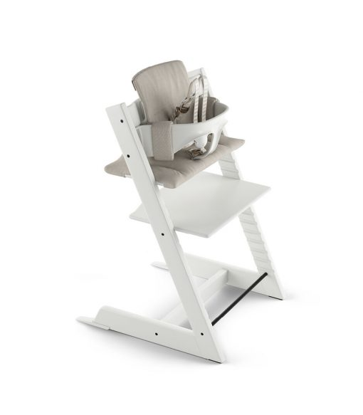 Tripp Trapp High Chair with Baby Cushion