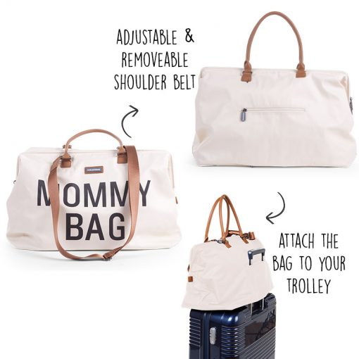 Childhome Mommy Bag Print Weekend Style Diaper Bag 4