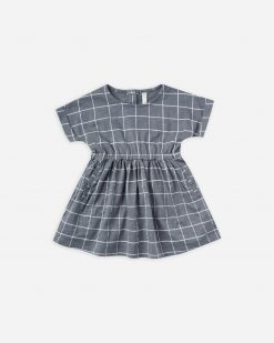 Wavy Check Kat Dress by Rylee & Cru