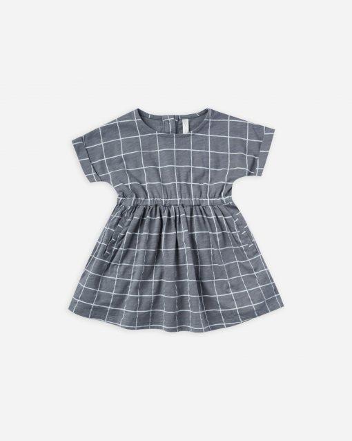 Wavy Check Kat Dress by Rylee & Cru
